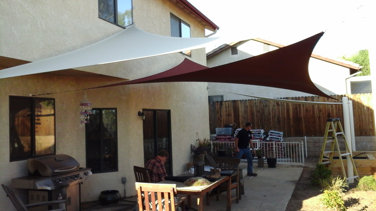 Patio Shade Canopies And Covers In Ca Cali Shade Sails