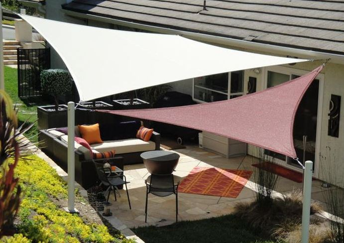 patio shade sails california